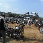 ハウルの城バイク
