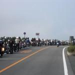 バイク渋滞