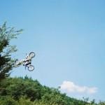 飛ぶバイク