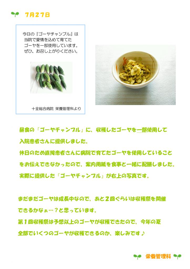 ゴーヤ栽培日記⑤-002